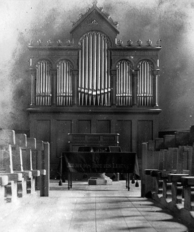 Innertkirchen Orgel