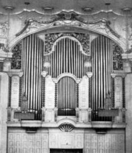 Salzburg Mozarteum Rieger-Orgel