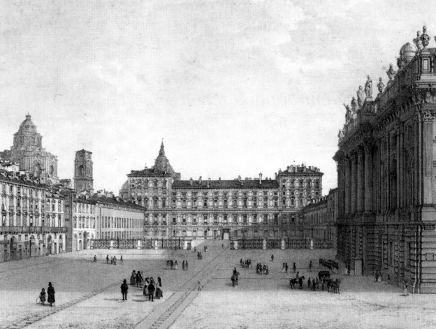 Piazza castello torino