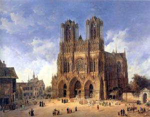 Die Kathedrale in Reims