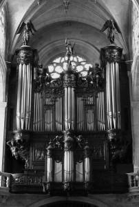 Heutige Orgel von St. Etienne du Mont