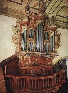 Orgel in der Kathedrale von Faro