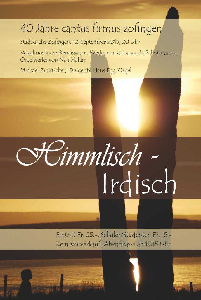 Himmlisch-irdisch