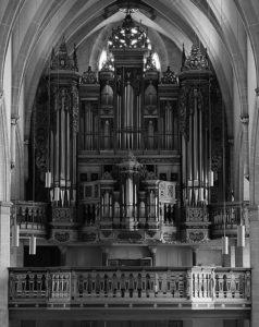 Orgel in der Predigerkirche Erfurt