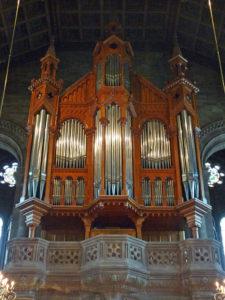 Die Merklin Orgel im Temple Neuf